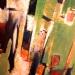 N.13-Nu ratant l'escalier-acryl.toile-