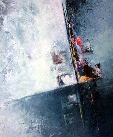 N.8-Reflet-acryl.toile-70/60cm-2007