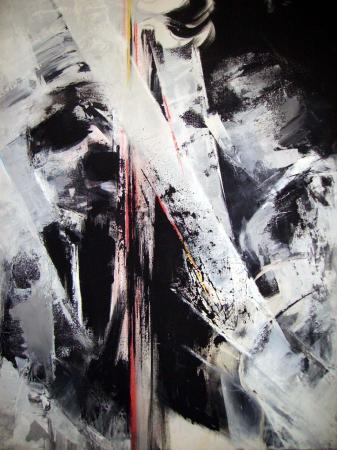 N.18-Vibrations-acryl.toile-70/60cm-2009