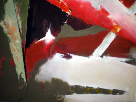 N.11-Crissement d'étoile-acryl.toile-50/60cm-2008
