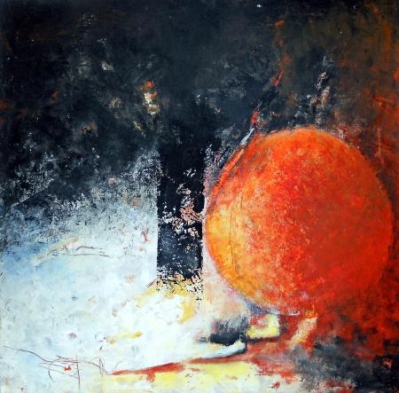 N.26-Hésitation-acryl.toile-60/60cm-2011